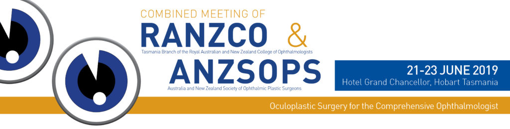 2019 Combined Meeting of RANZCO Tasmania Branch and ANZSOPS